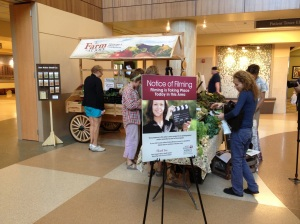 Green Things Farm debuted their produce at St. Joe's earlier this month.